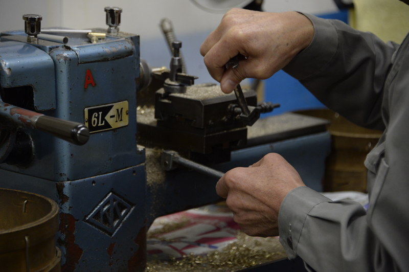 森田製作所のペン加工